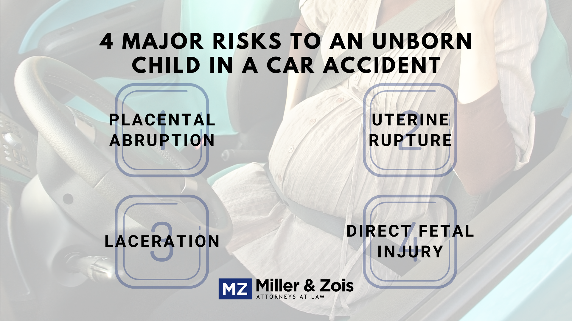 risks for pregnant drivers
