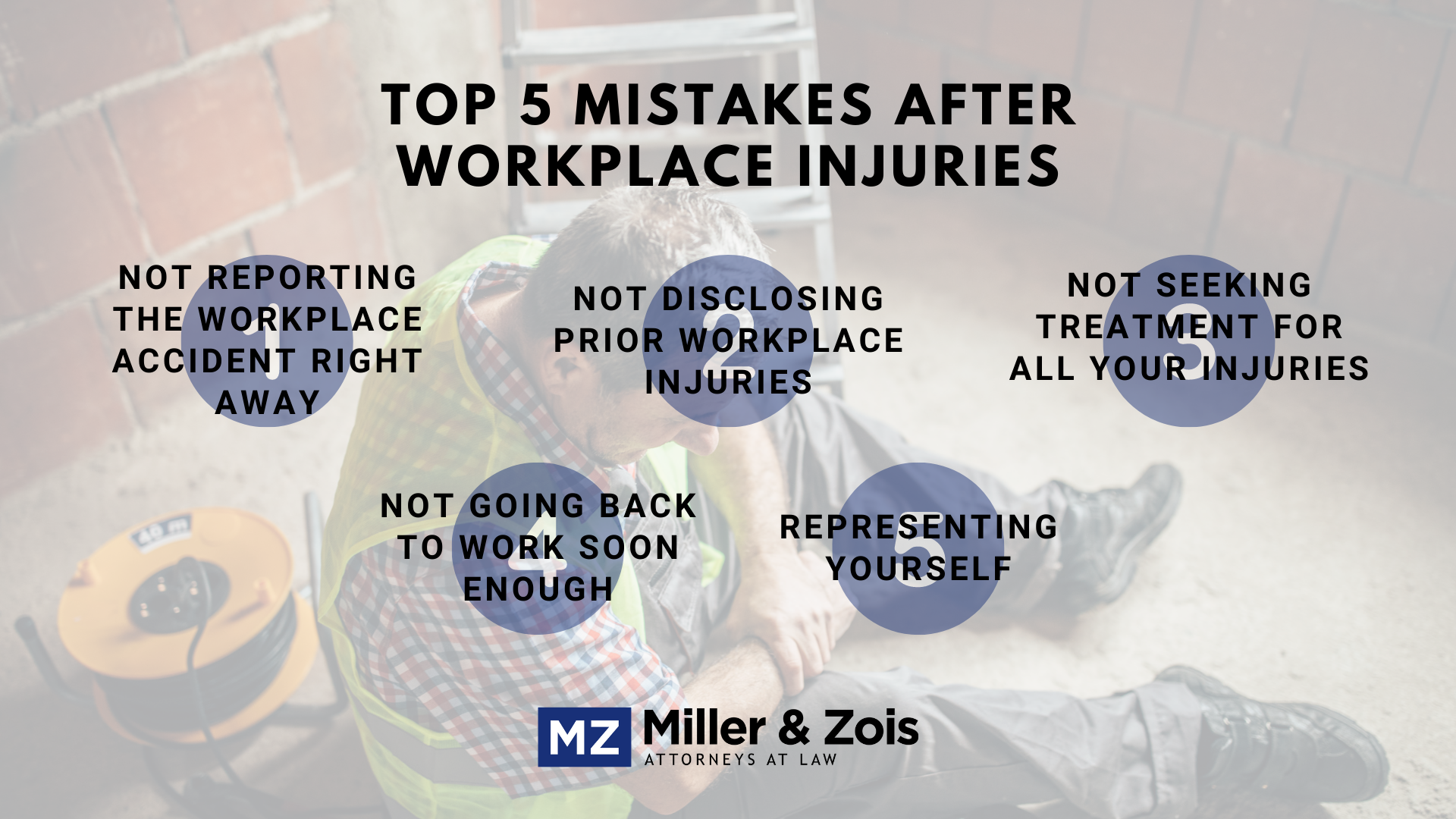 Workplace-Injury-Mistakes
