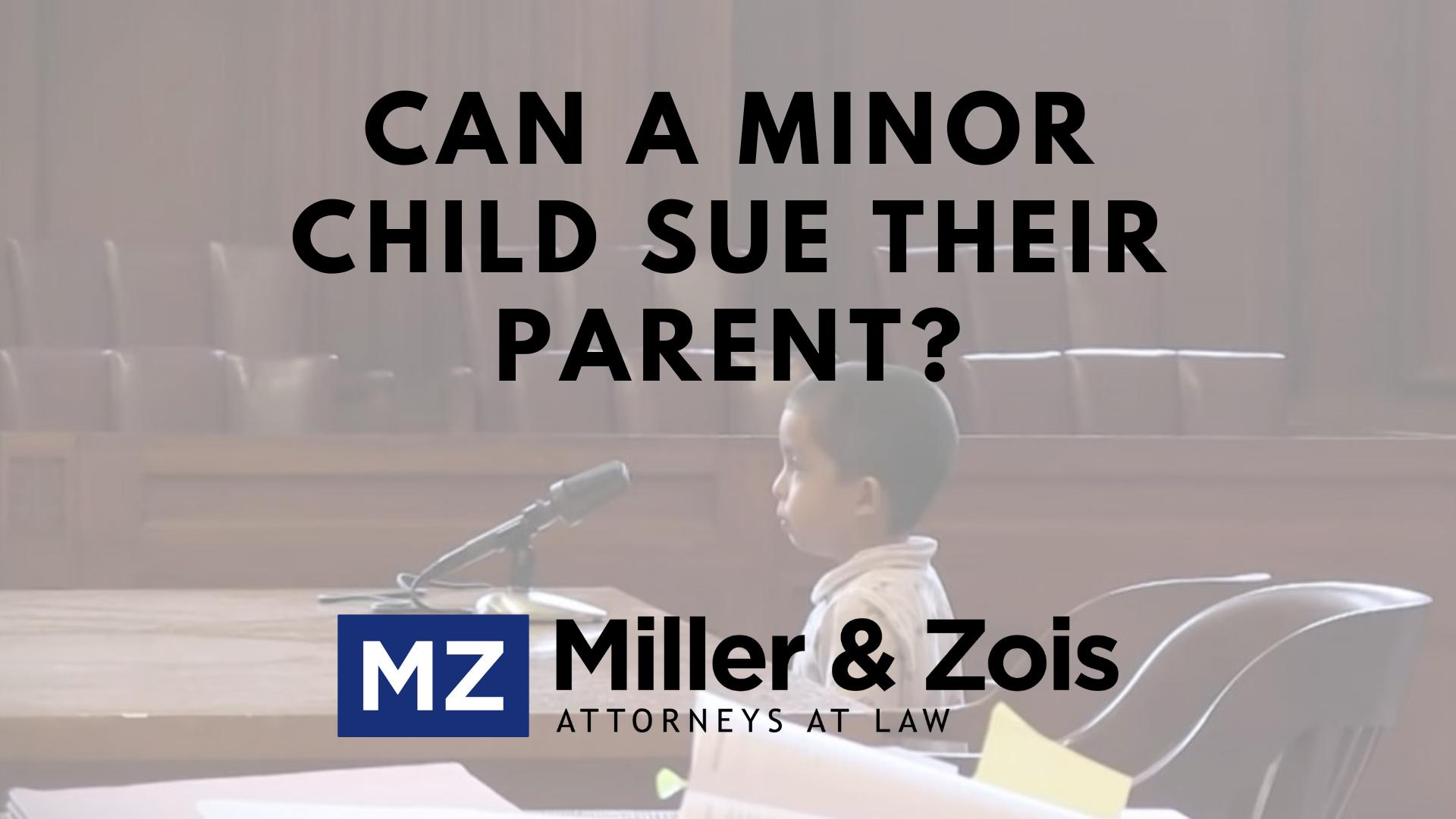child sues parent
